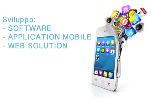 Sviluppo software, applicazioni e web solution